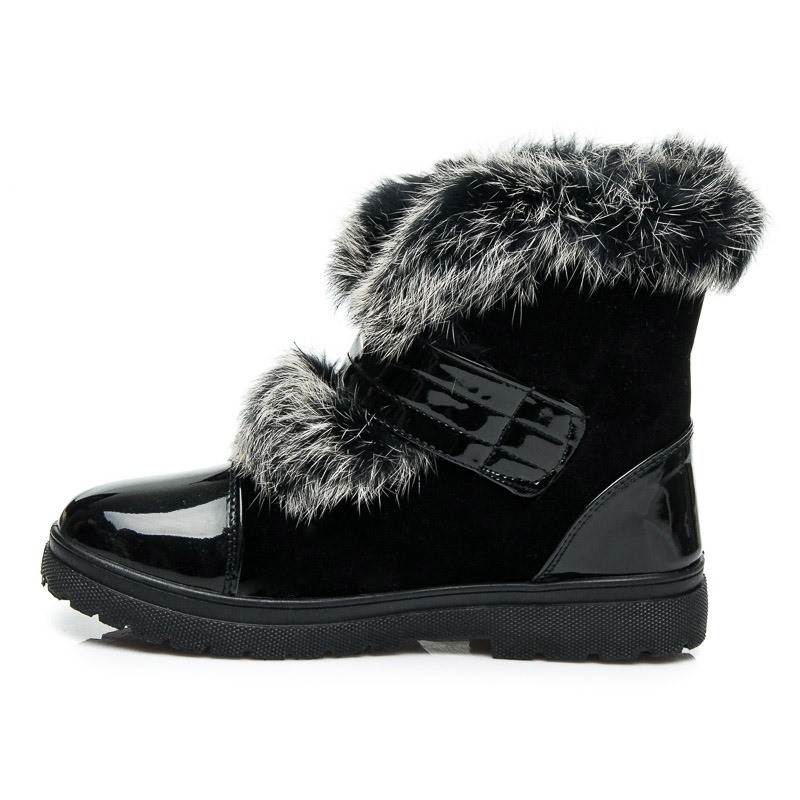 Dámske čierne čižmy - Dámske topánky  3d910ea1914