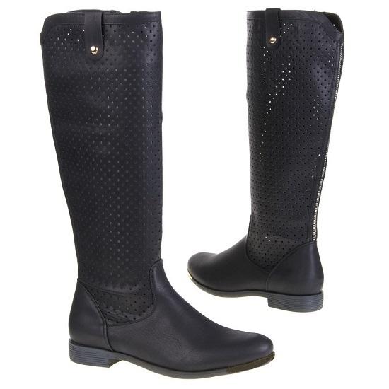Čierne čižmy - Dámske topánky  d913167680d
