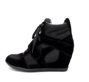 Dámske čierne tenisky - Dámske topánky  cc2c4aa8630
