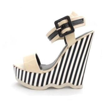 fce06b620e19 Dámske sandále na platforme - Dámske topánky