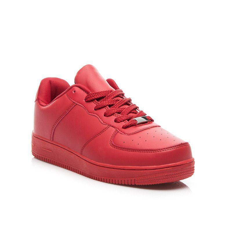 Dámske červené tenisky - Dámske topánky  10694effbb